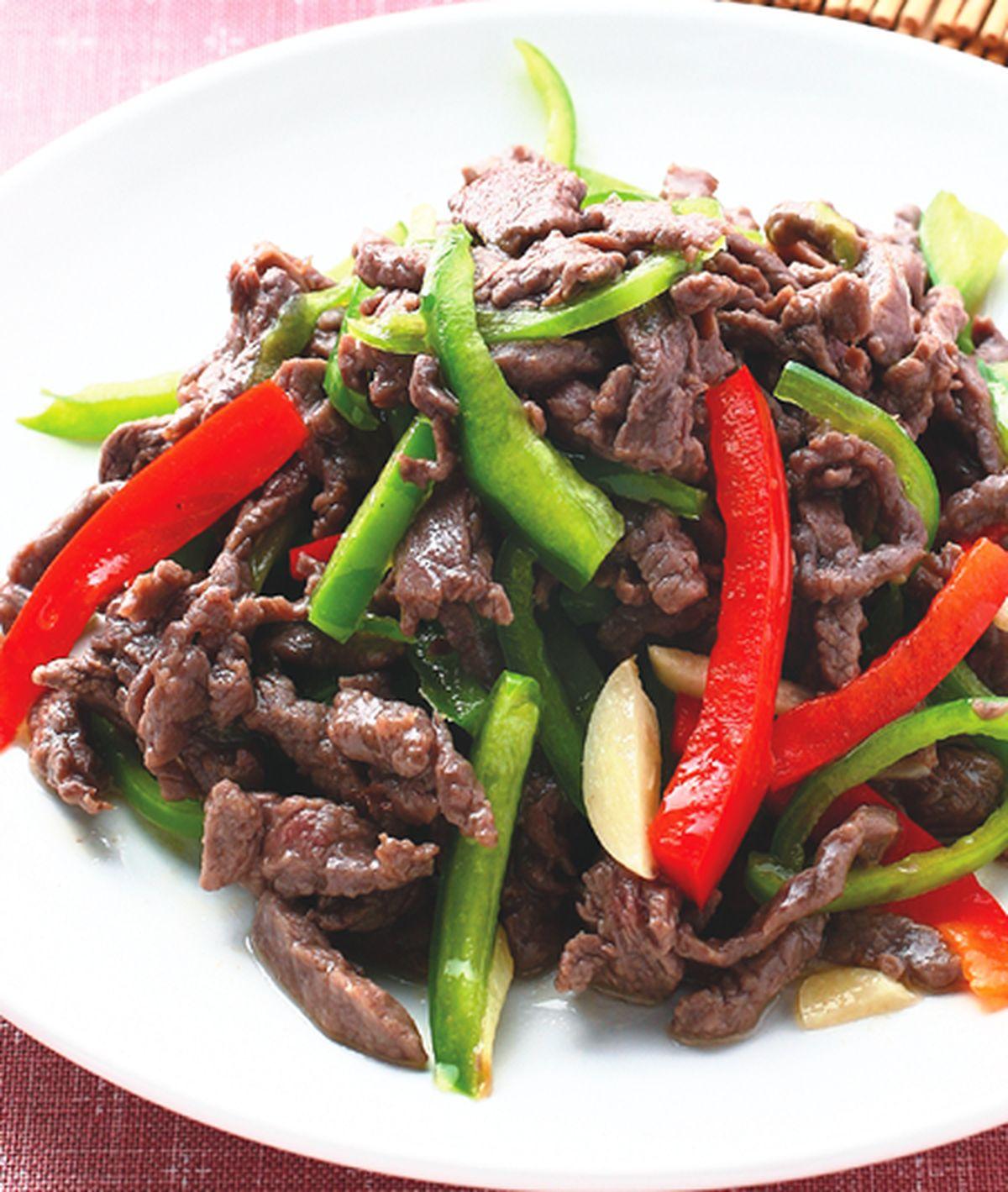 食譜:青椒牛肉絲(3)