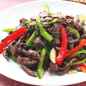 青椒牛肉絲(3)