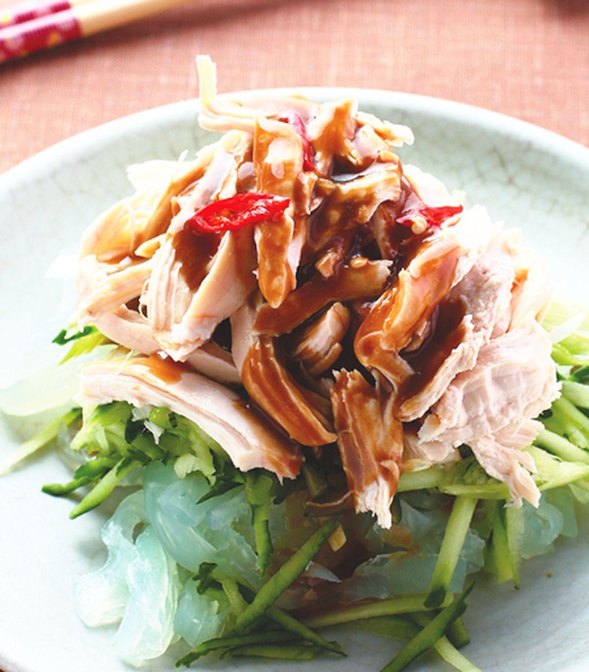 食譜:雞絲拉皮(3)