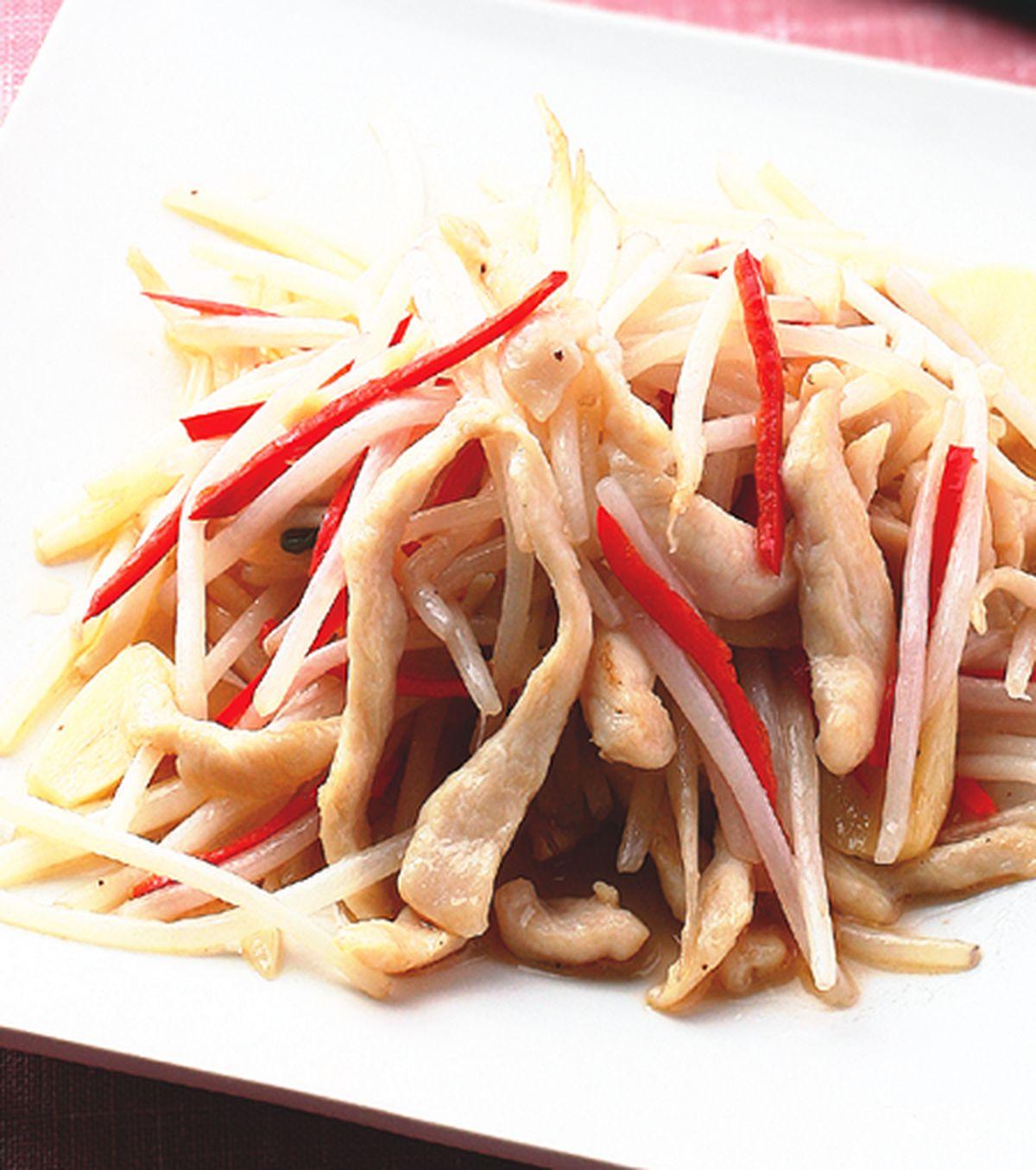 食譜:銀芽雞絲(7)