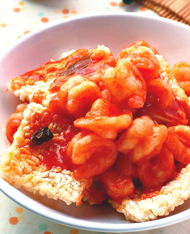 食譜:鍋巴蝦仁