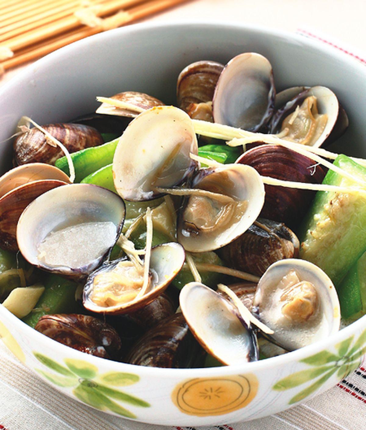 食譜:蛤蜊絲瓜(6)