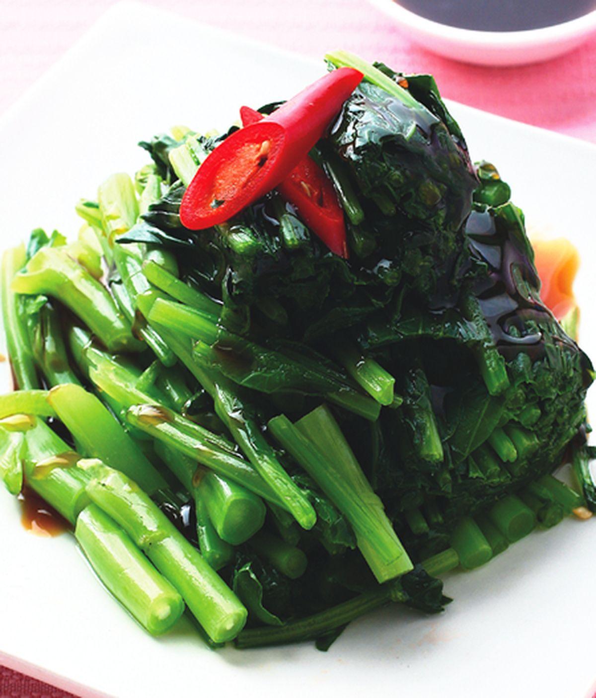 食譜:蠔油芥蘭菜
