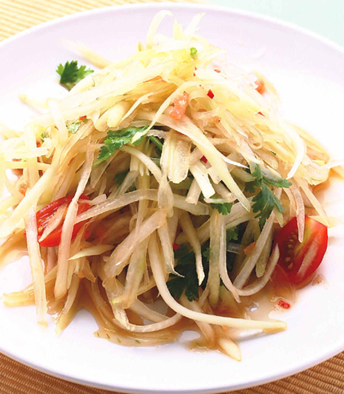食譜:涼拌青木瓜(2)