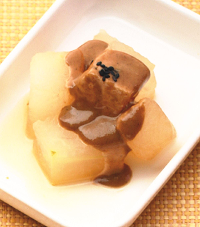 食譜:冬瓜煮淋芝麻醬