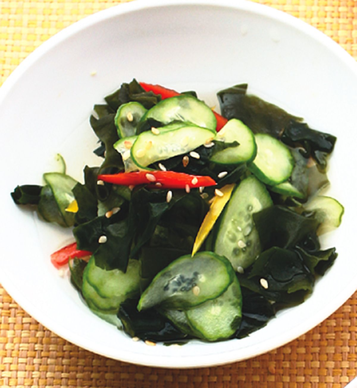 食譜:醋拌小黃瓜
