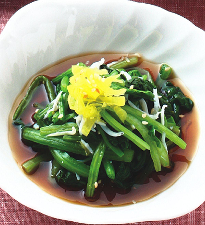 食譜:涼拌菠菜(1)