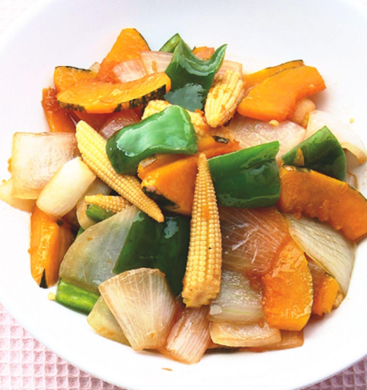食譜:炒野菜什錦