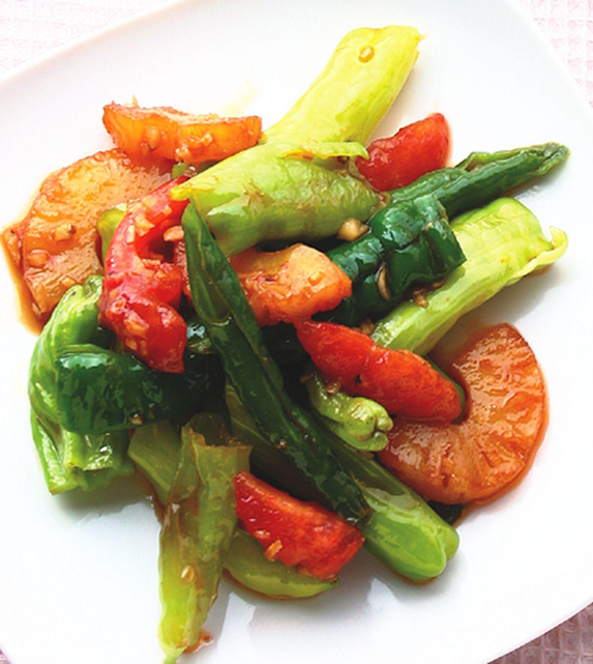 食譜:糖醋青甜辣椒