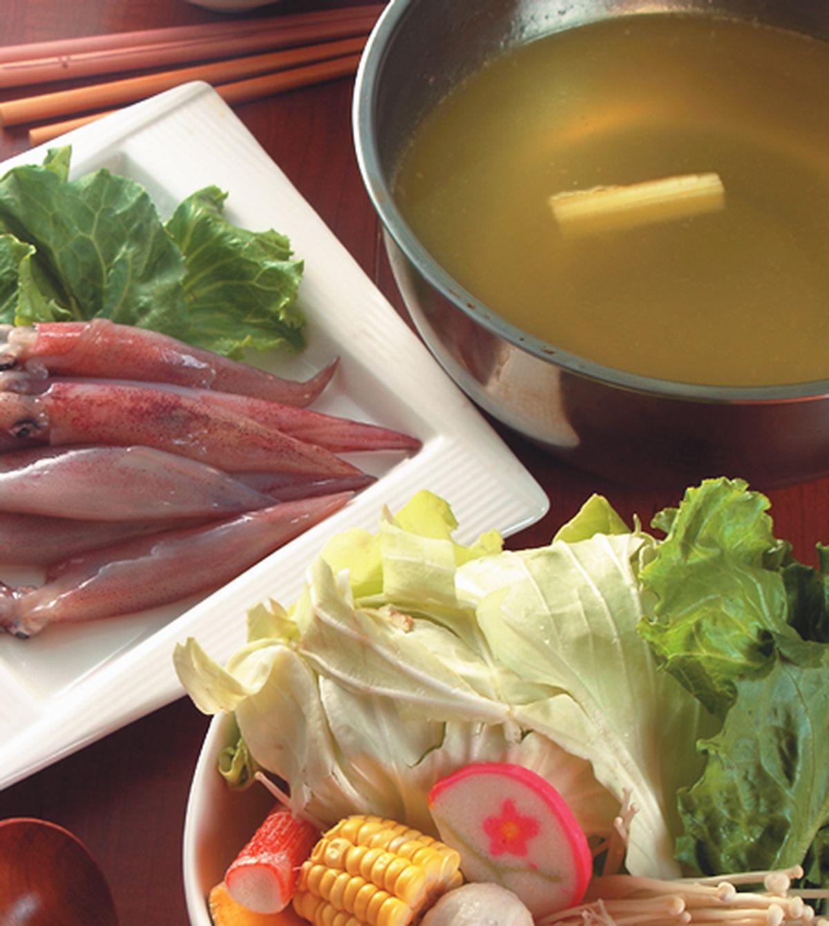 食譜:白甘蔗火鍋