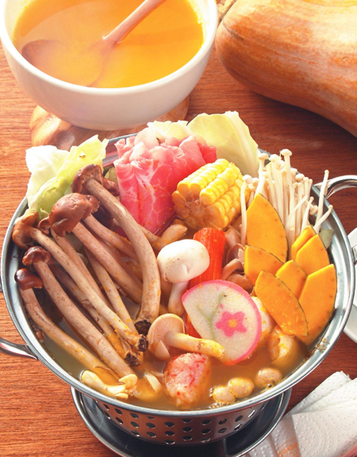 食譜:南瓜鍋