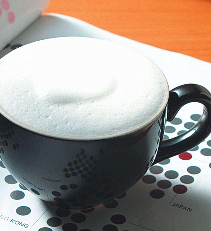 食譜:咖啡牛奶泡泡