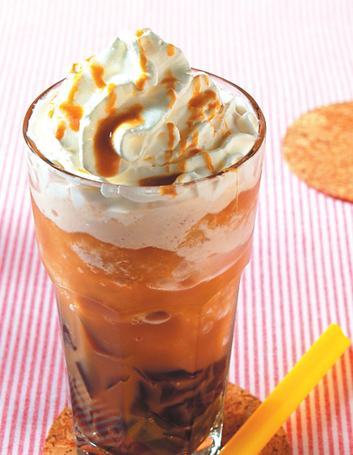 食譜:焦糖冰砂