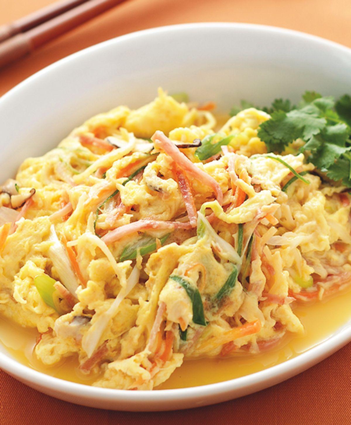 食譜:芙蓉炒蛋