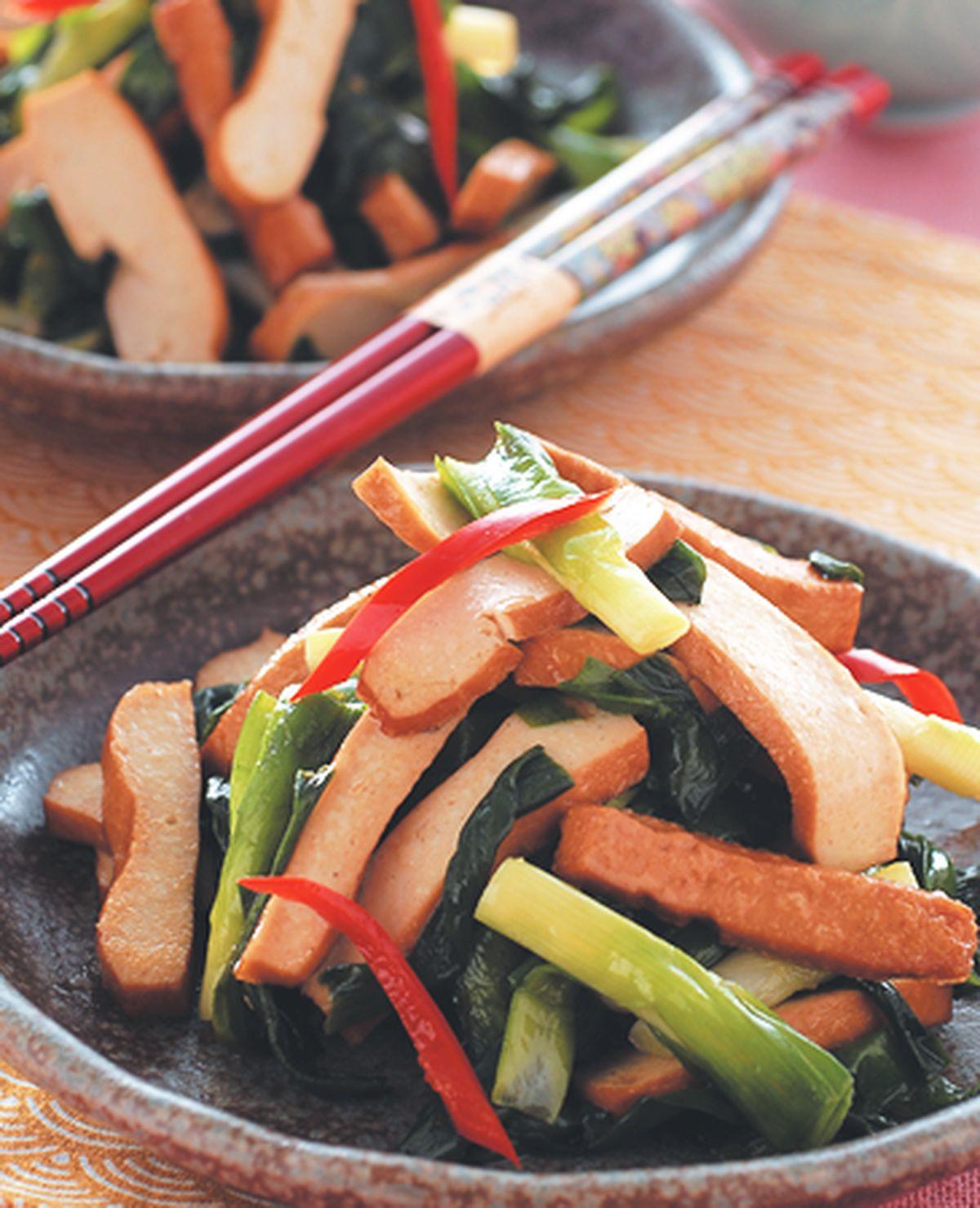 食譜:韭菜炒豆乾絲