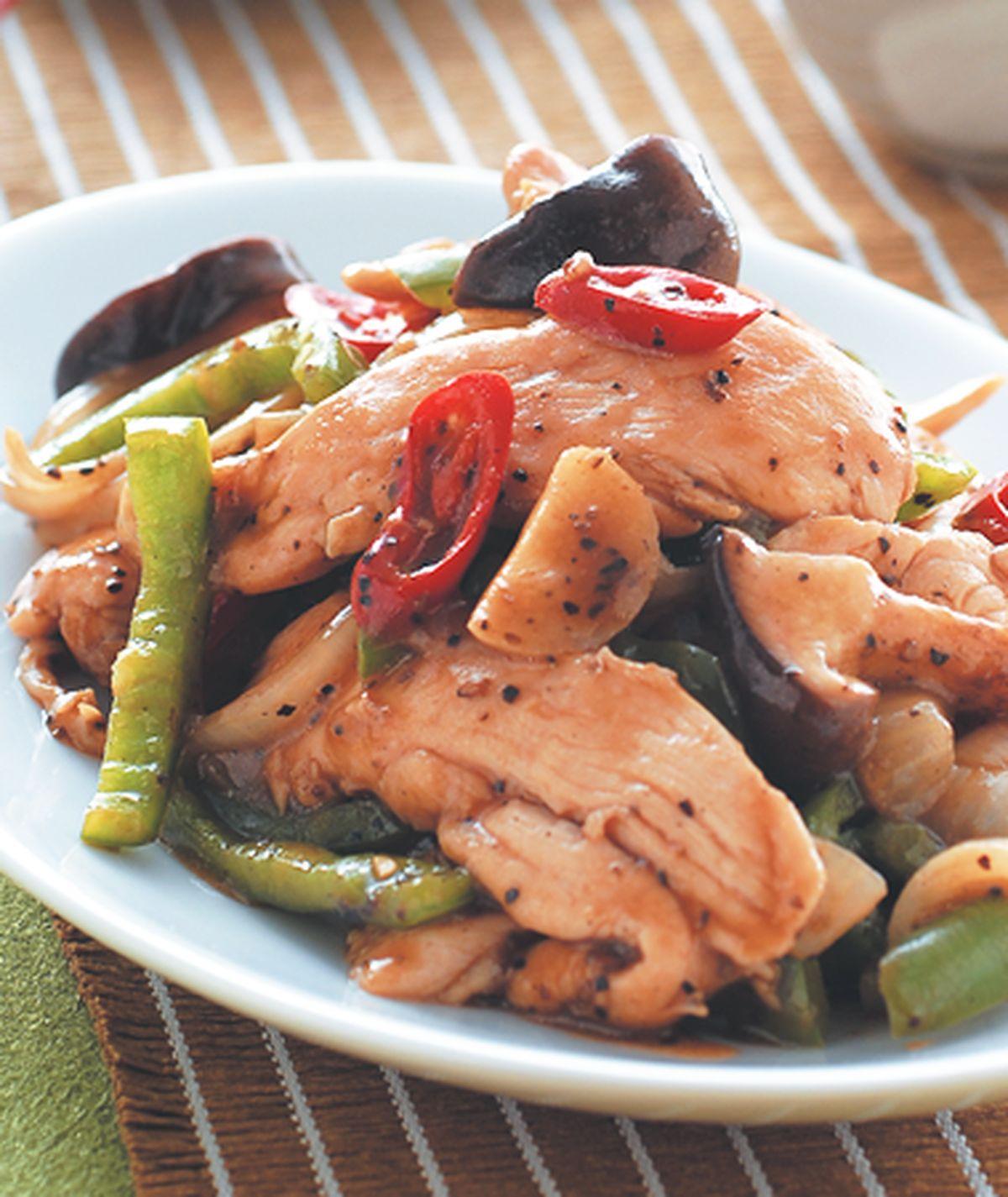 食譜:黑胡椒雞柳