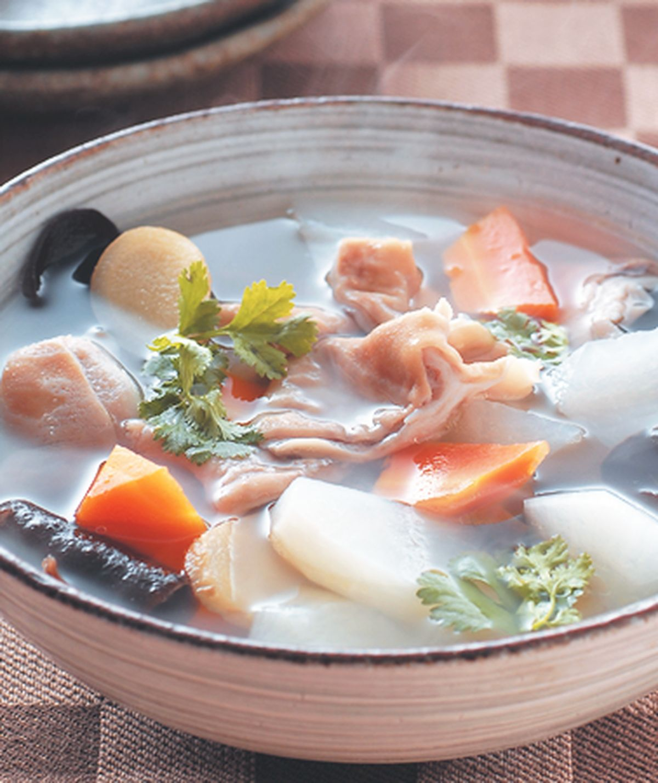 食譜:蘿蔔豬肚湯