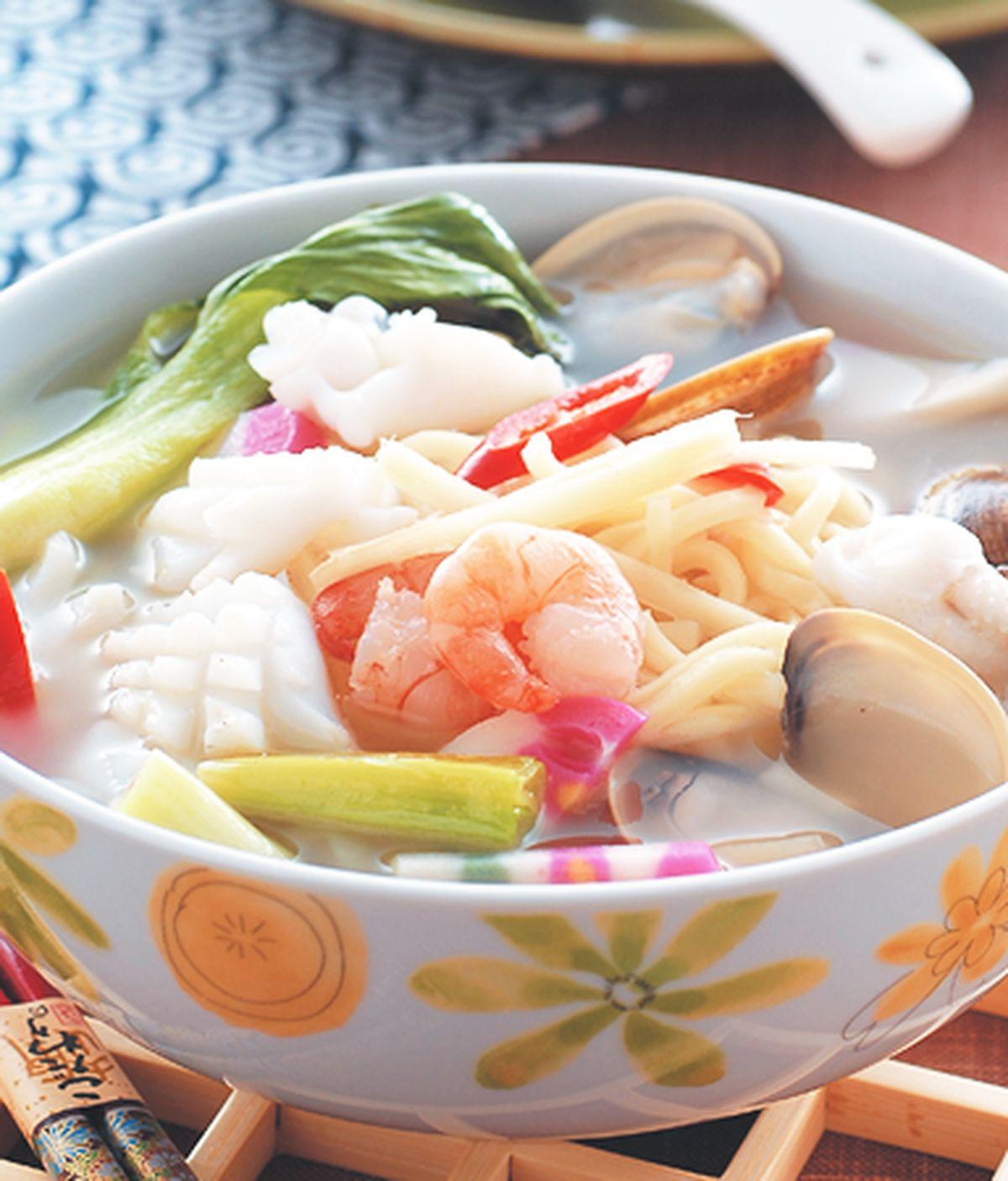 食譜:海鮮湯麵(2)