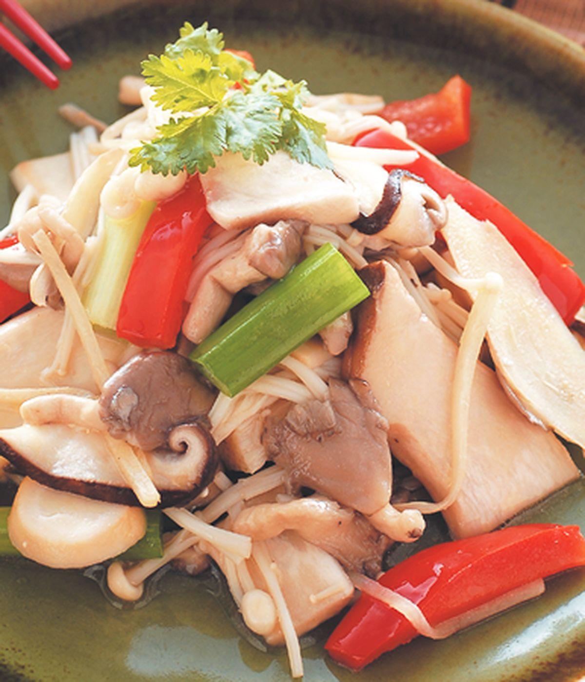 食譜:什錦炒菇