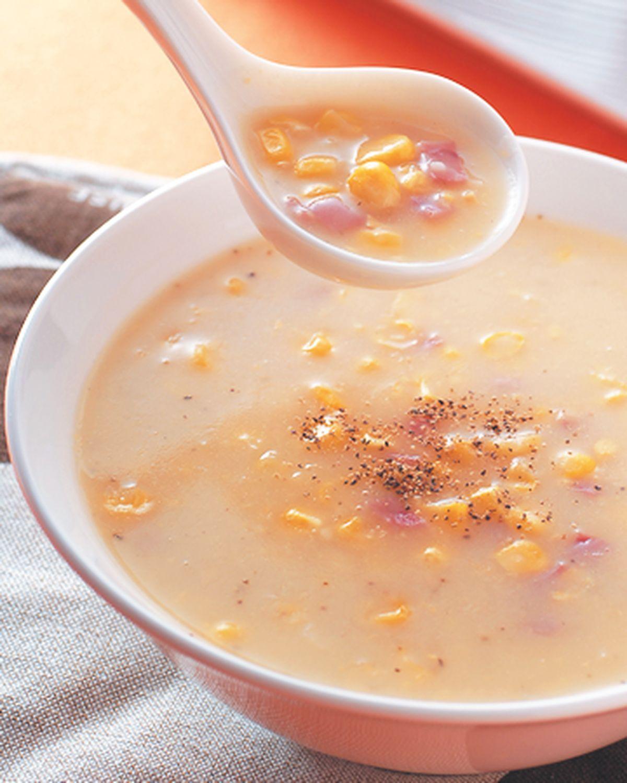 食譜:火腿玉米濃湯