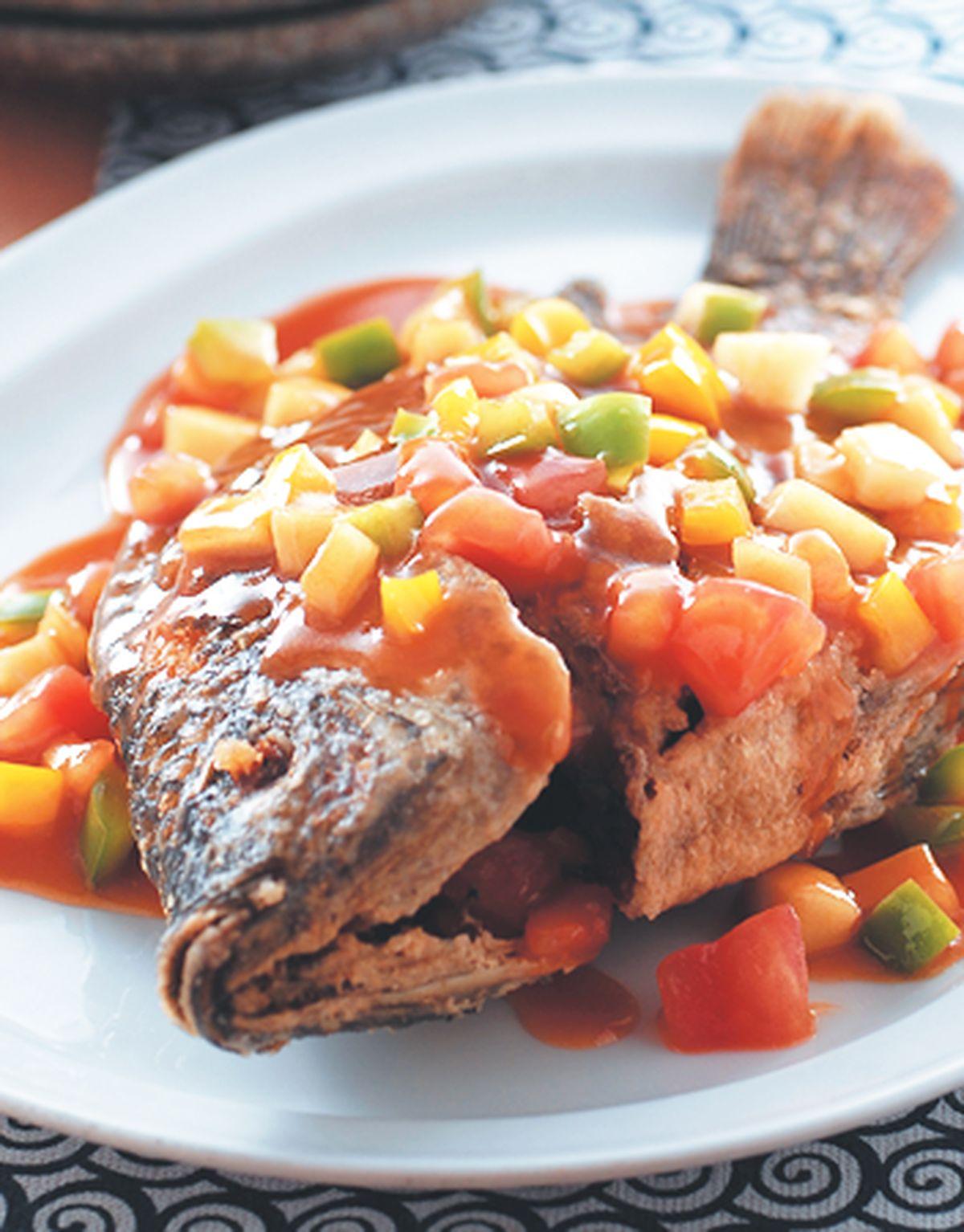 食譜:糖醋魚(7)