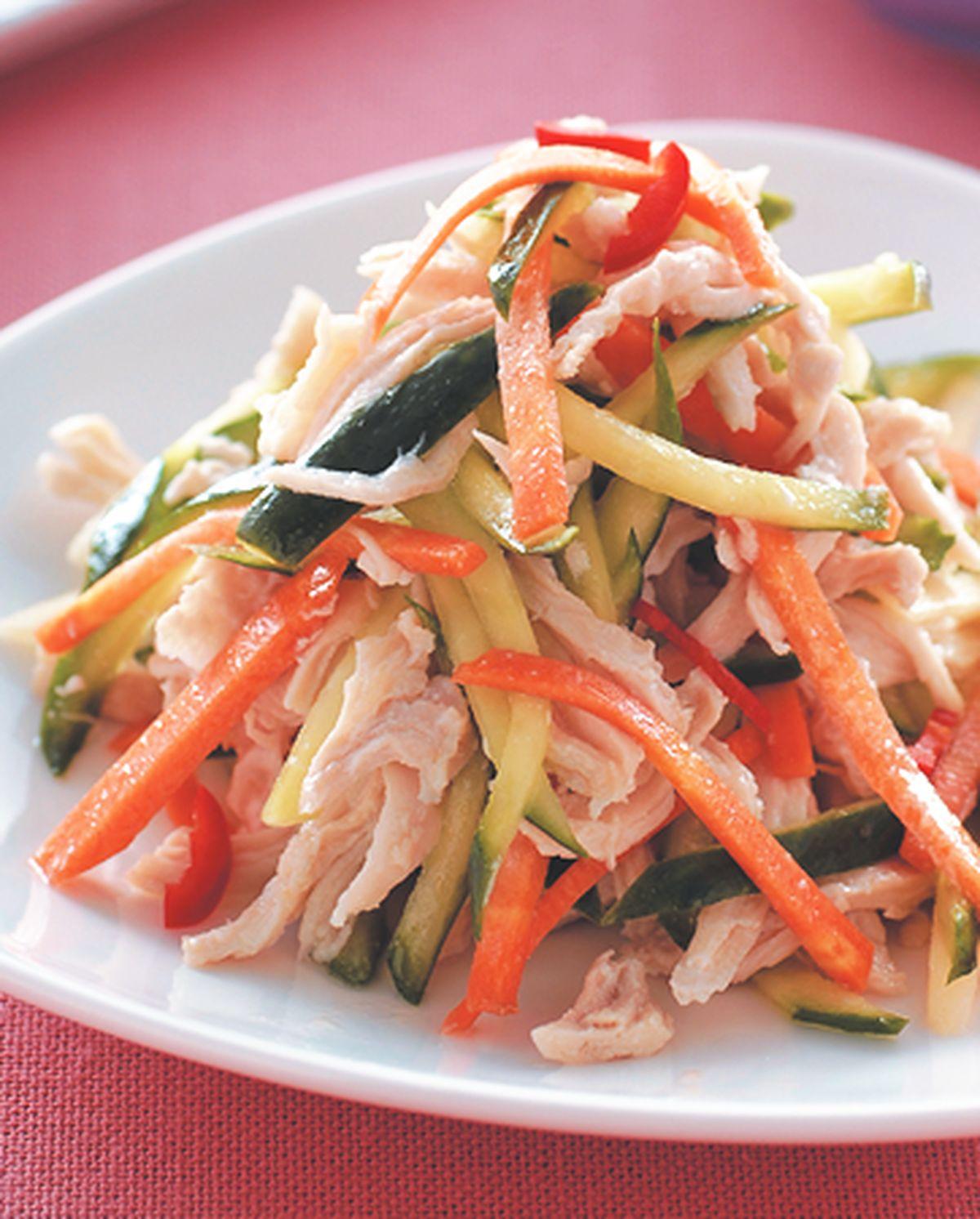 食譜:涼拌黃瓜雞絲