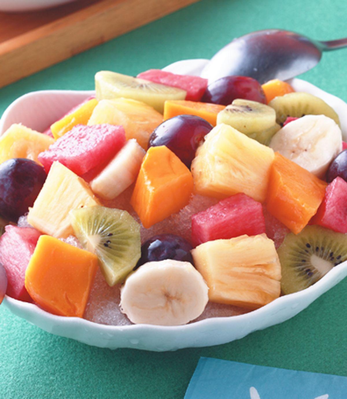 食譜:綜合水果冰(1)