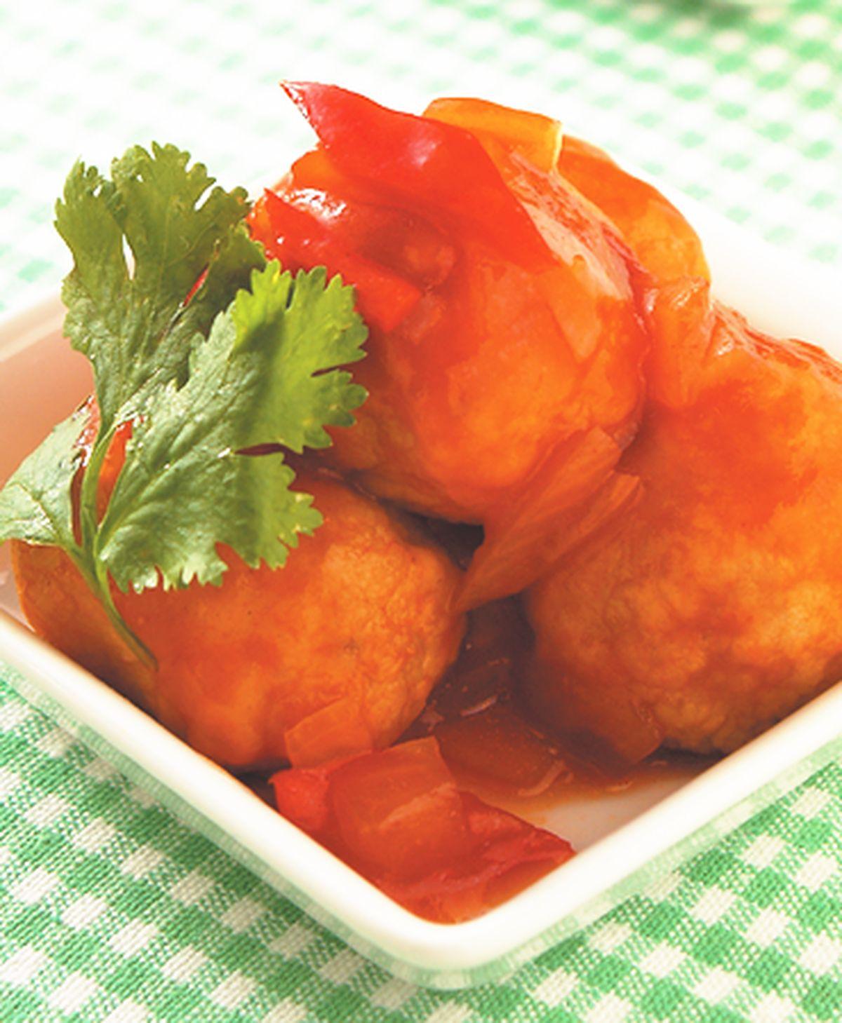 食譜:茄汁土司球