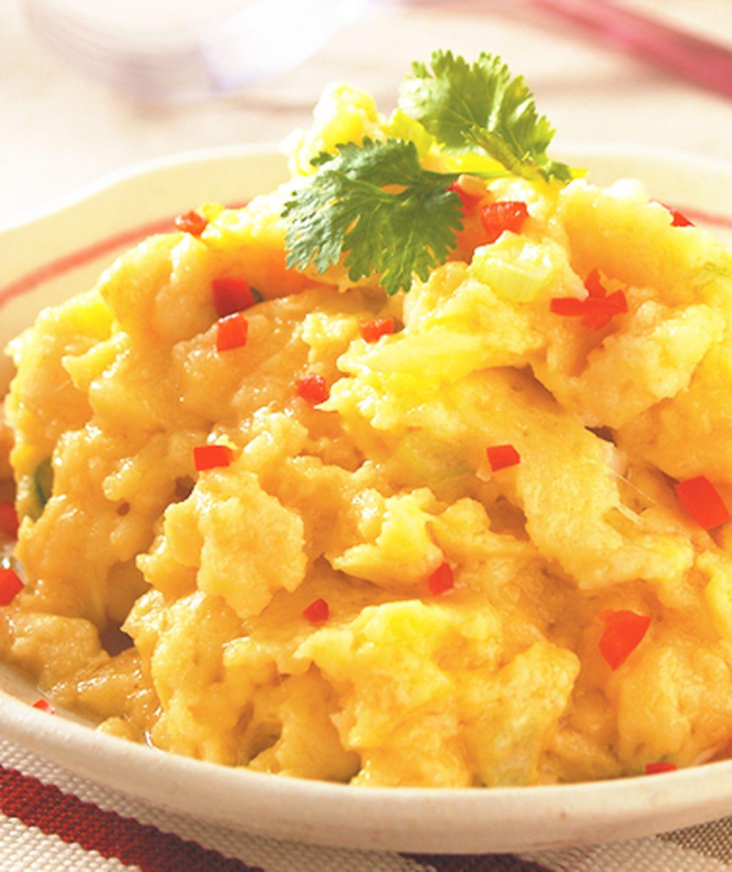 食譜:土司鮮奶炒蛋