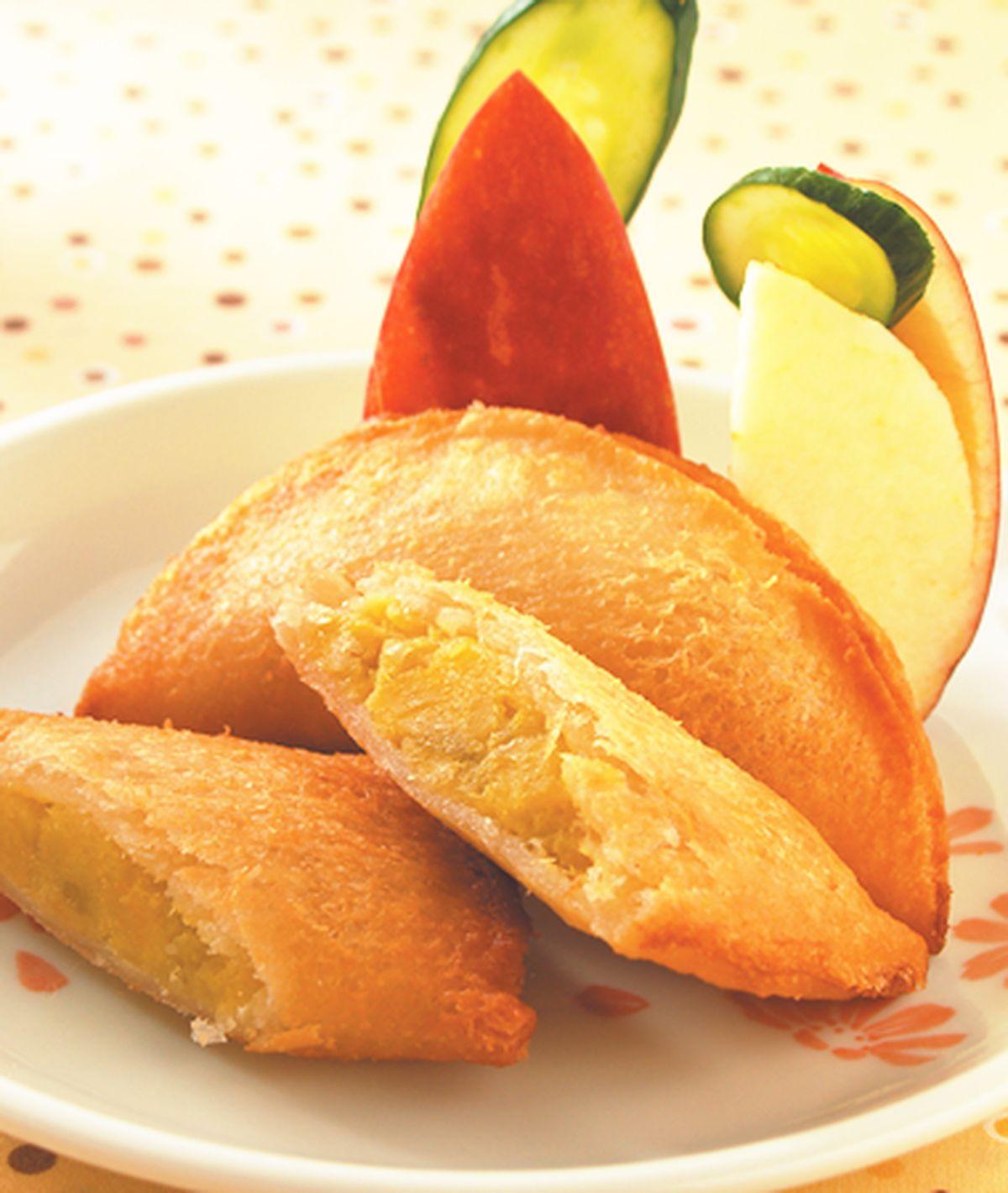 食譜:地瓜土司餃