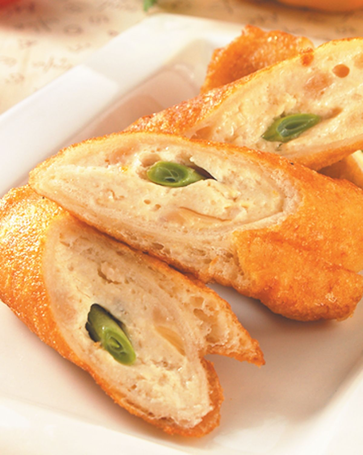 食譜:土司豆腐捲