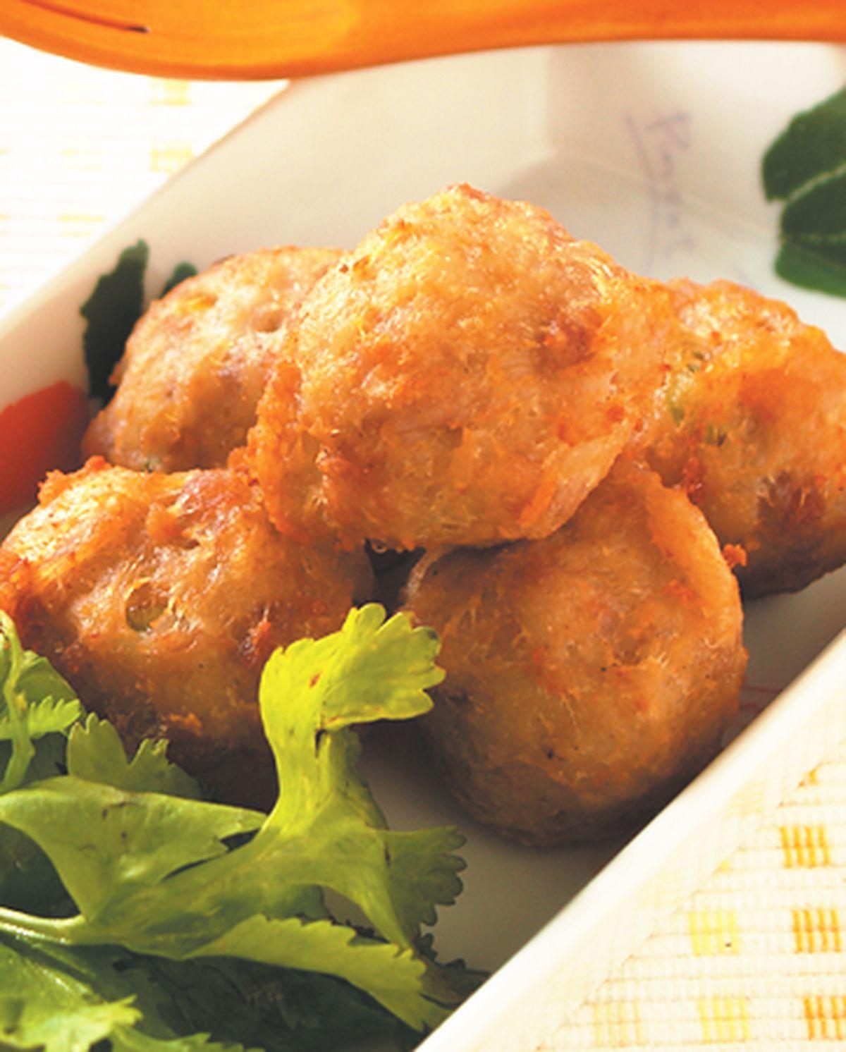 食譜:土司肉丸