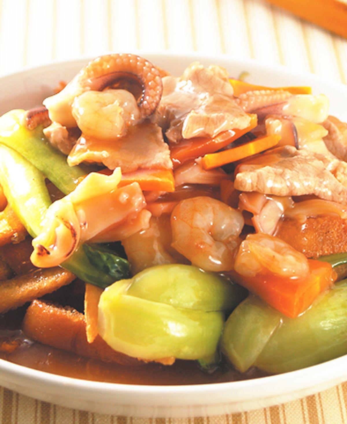 食譜:什錦燴土司