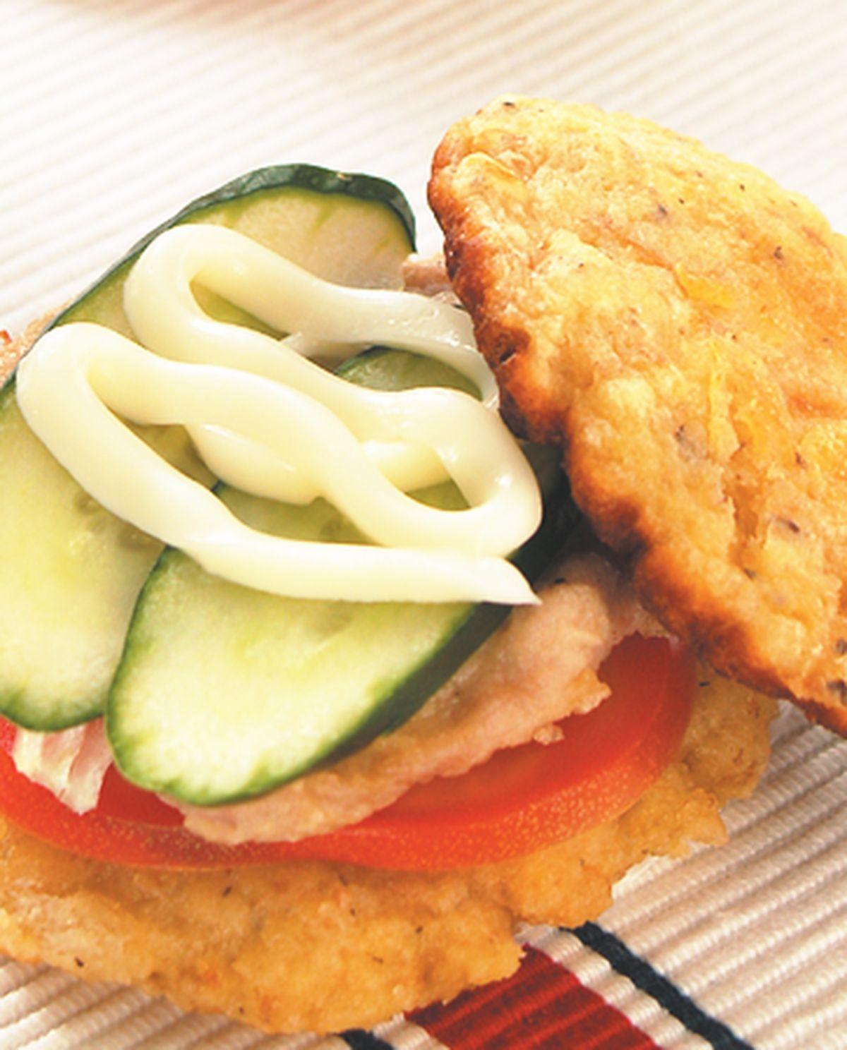 食譜:土司漢堡