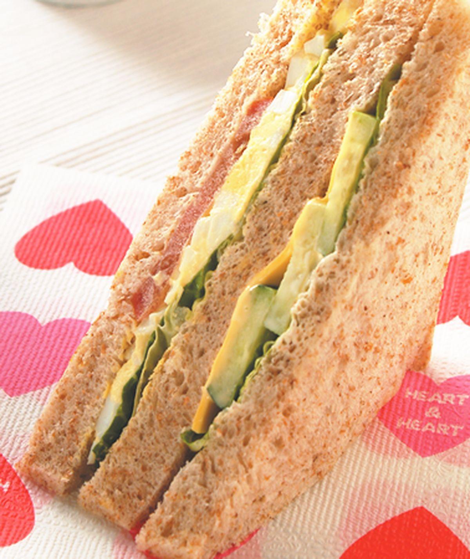 食譜:總匯三明治(6)