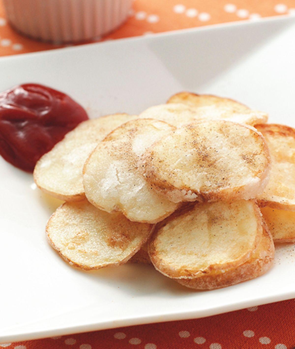 食譜:原味薄薯片
