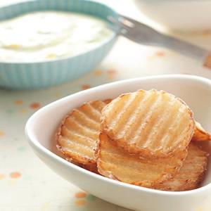 波浪厚薯片