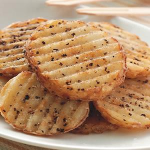 黑胡椒薯片