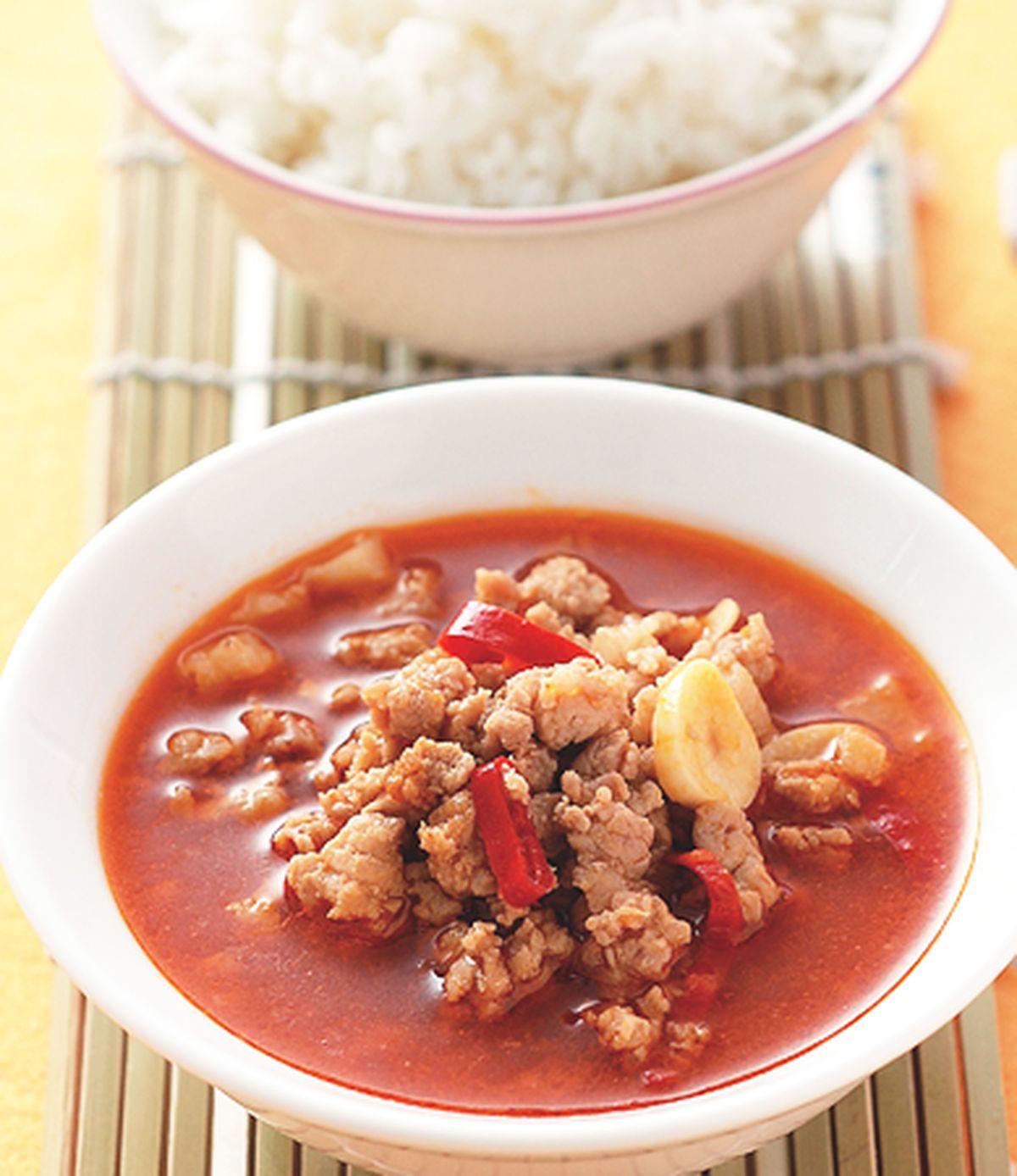 食譜:辣味肉醬