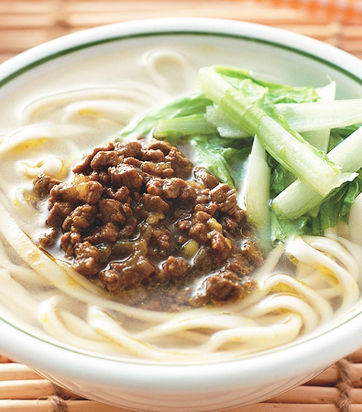 食譜:咖哩牛肉湯麵(1)