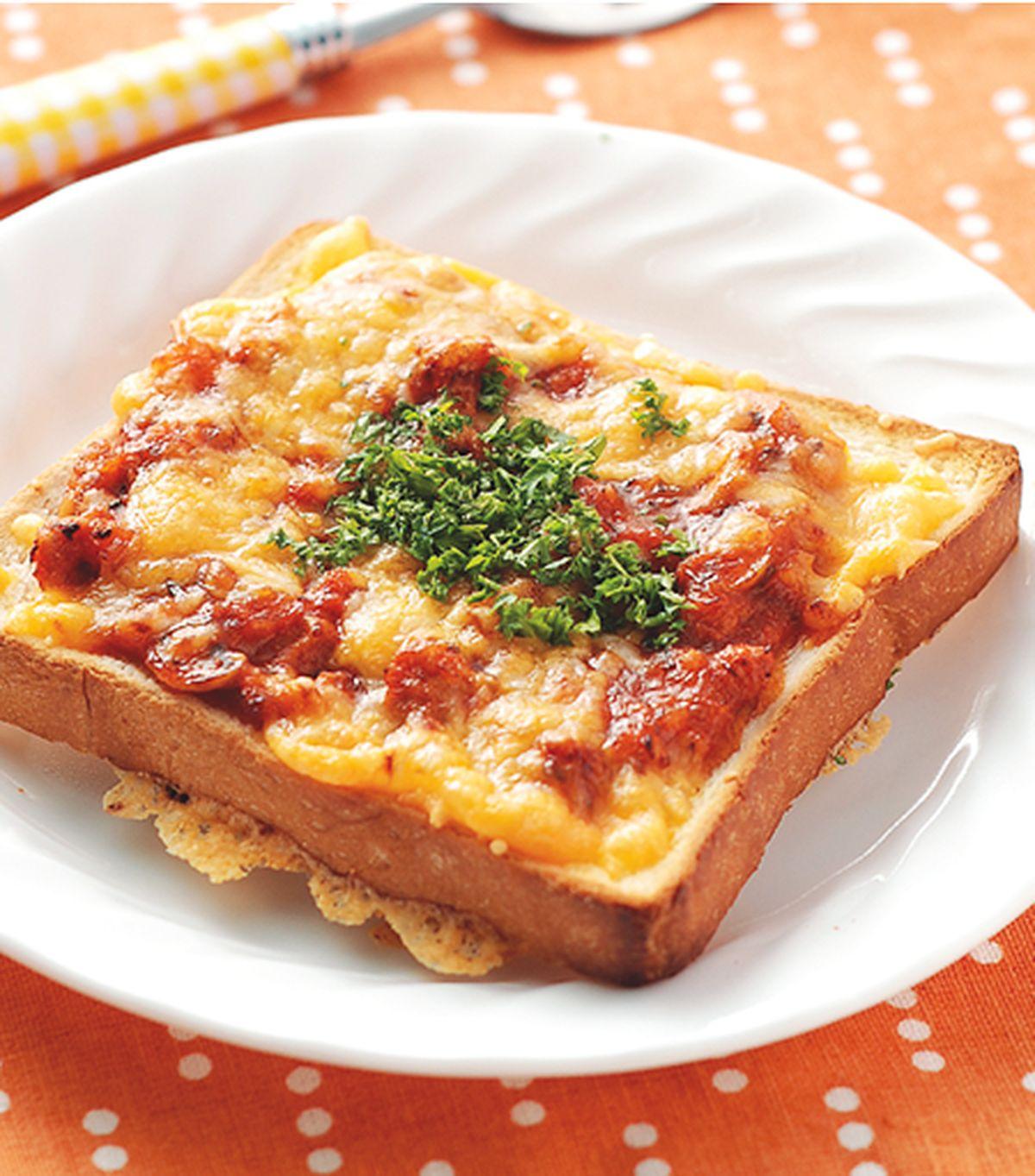 食譜:焗烤土司披薩