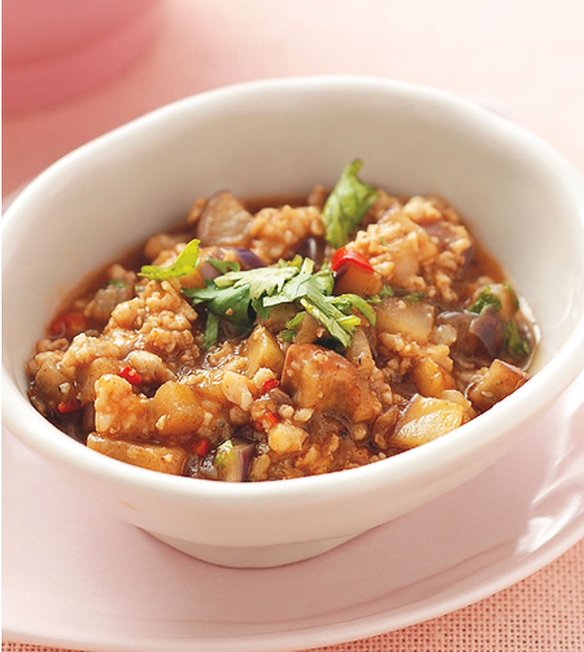 食譜:茴香茄子魚肉醬
