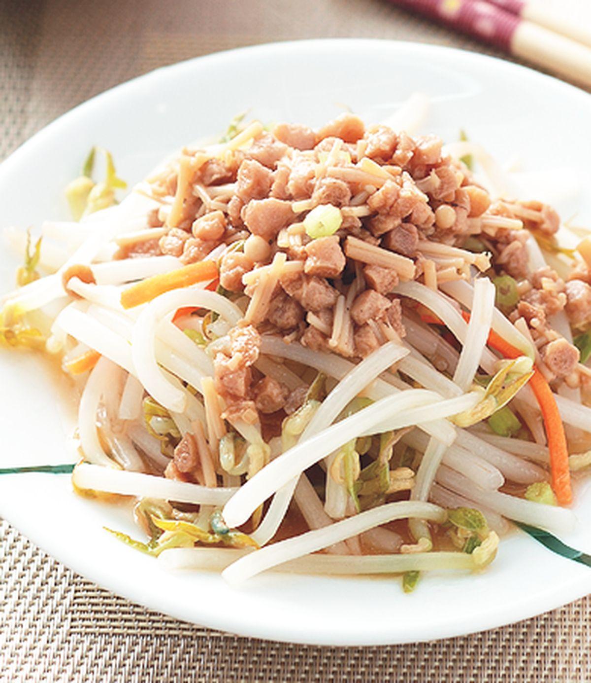 食譜:金菇素肉醬