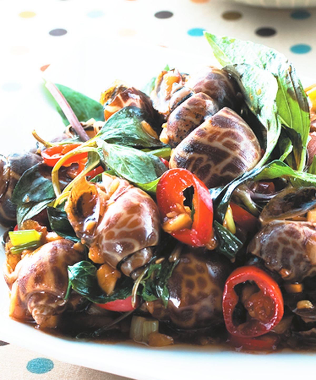 食譜:塔香風螺