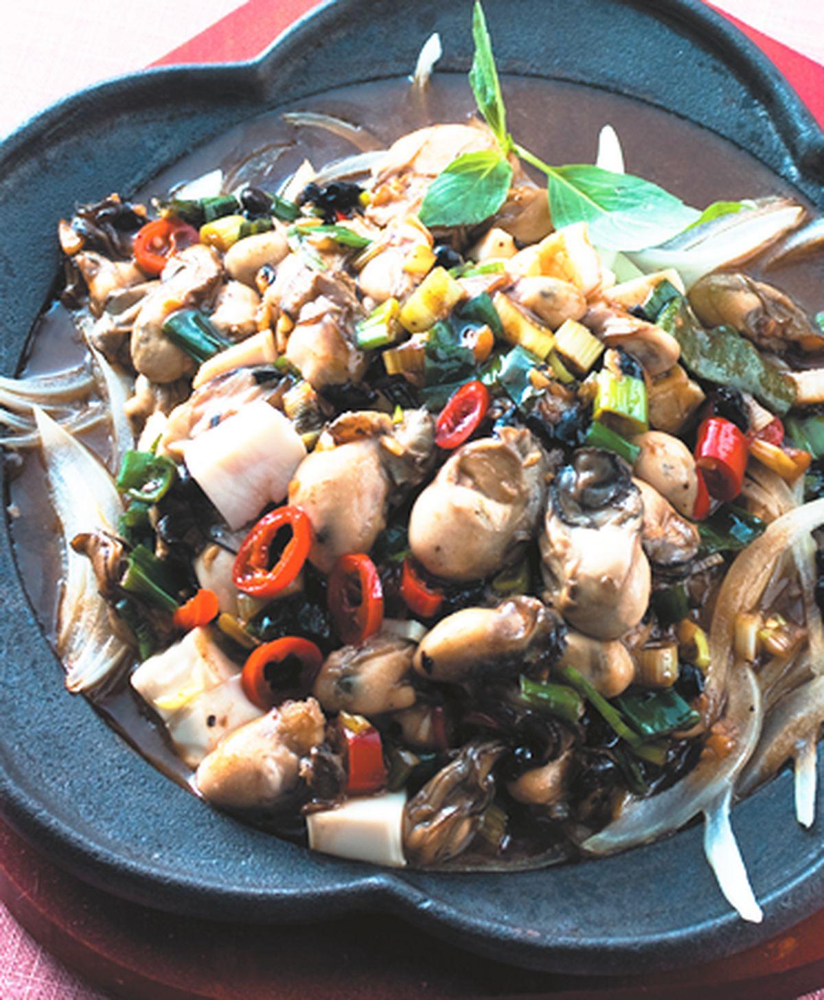 食譜:鐵板鮮蚵(1)