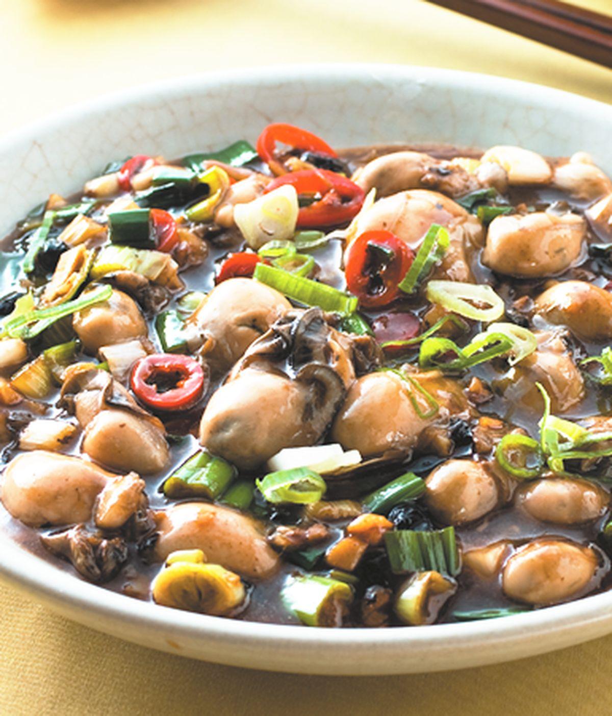 食譜:豆豉鮮蚵(2)
