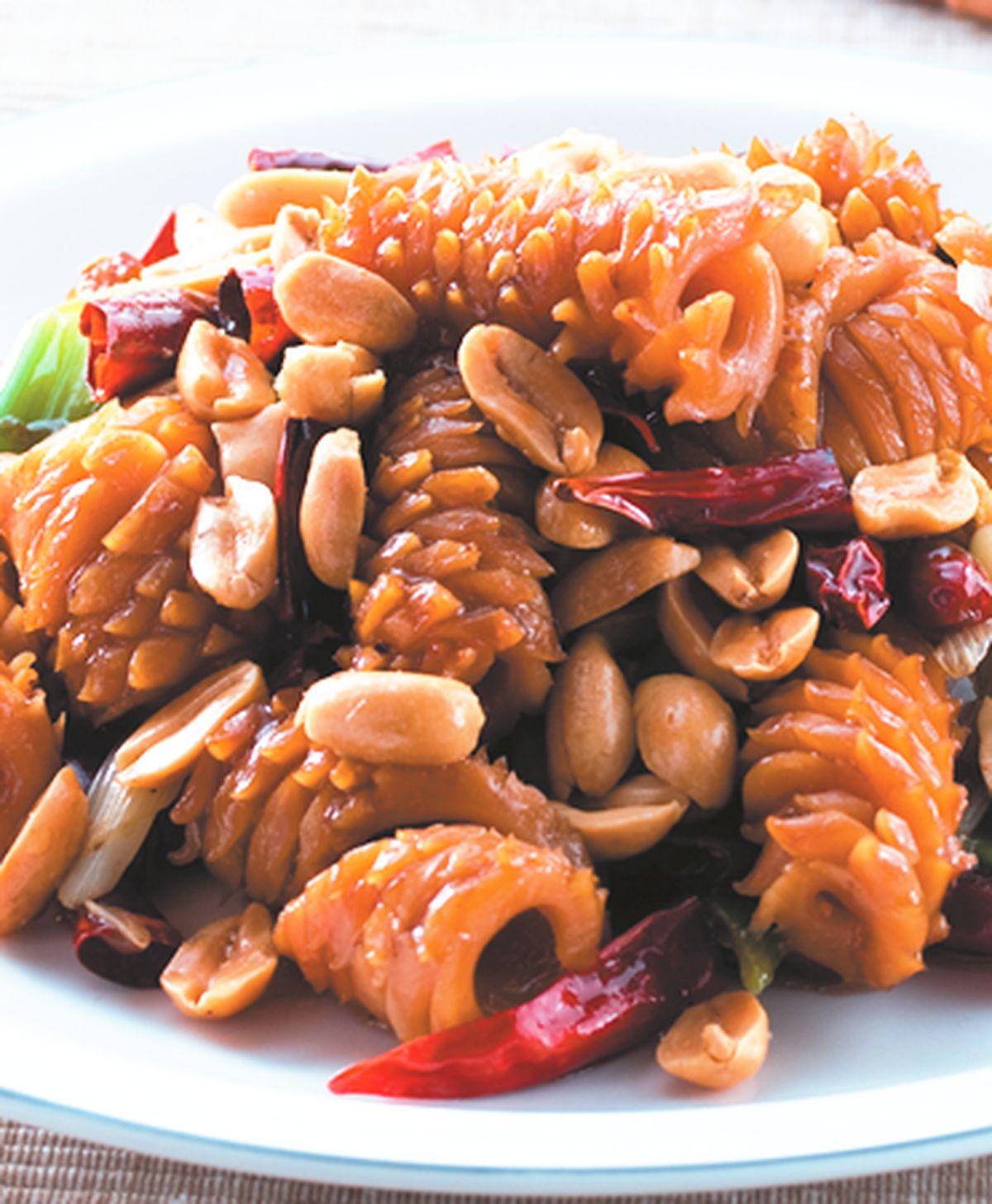 食譜:宮保魷魚(3)