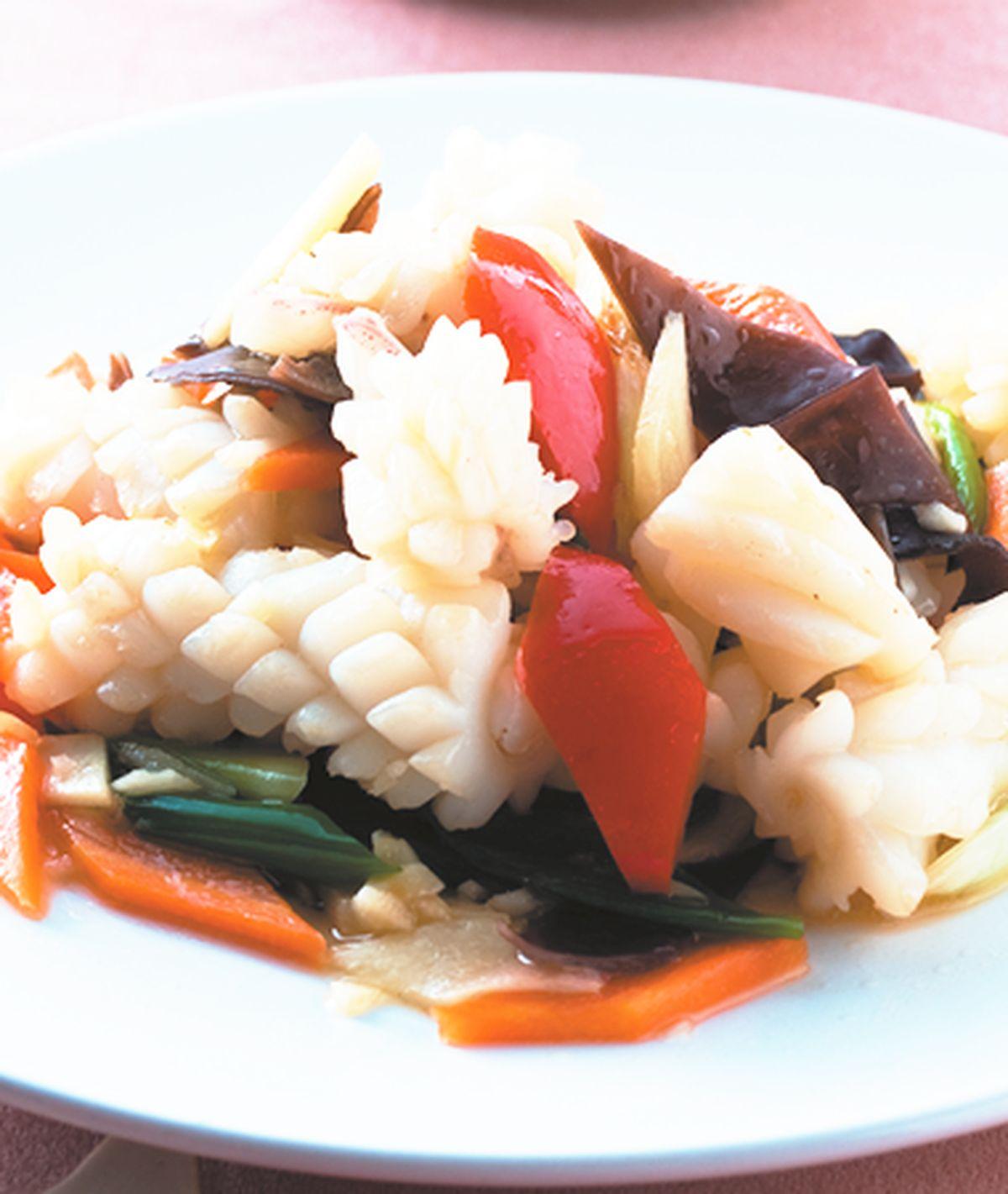 食譜:清炒花枝