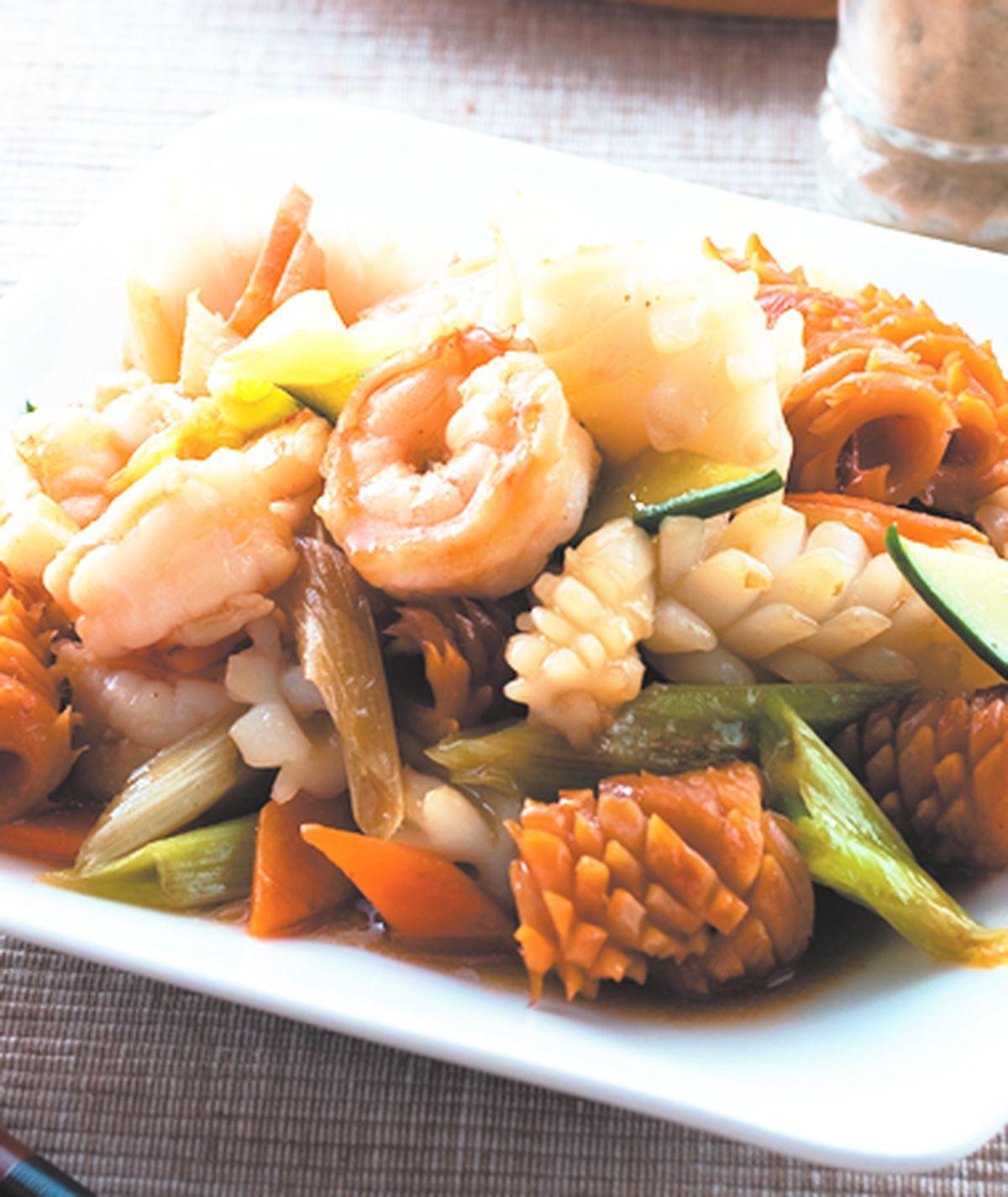 食譜:炒三鮮(1)