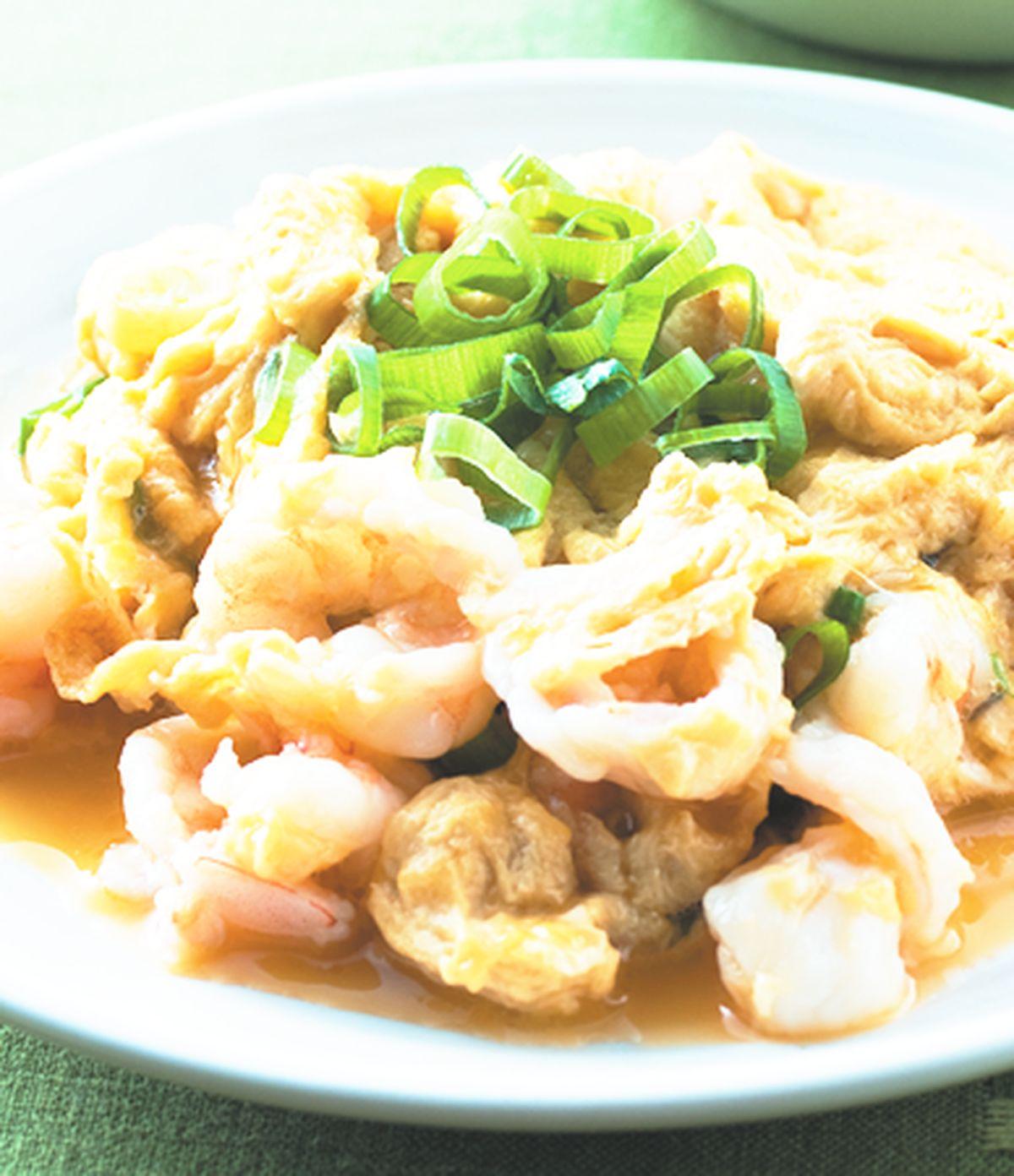 食譜:滑蛋蝦仁(4)